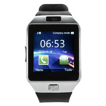 Купить с кэшбэком Explosion models DZ09 smart watch card waterproof QQ WeChat for Android touch screen Bluetooth smart wearable device