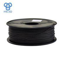 3D printer Conductive ABS filament New Material Black Filament 1.75mm/3mm 1KG