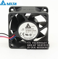Delta made in Thai AFB0612DH 60*60*25MM 6025 6cm 12V 1.1A three-speed fan for original