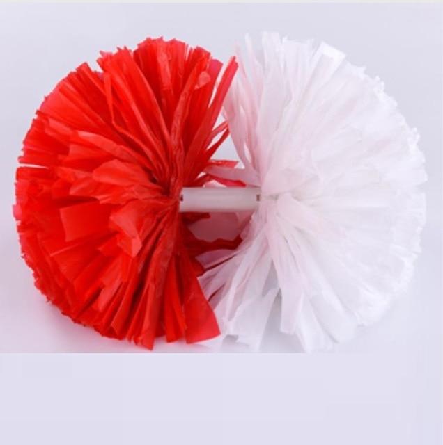Customized 2 colors Small cheer pom poms 5c64fbbde3f95