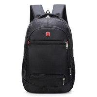 Мужской Водонепроницаемый Бизнес 15 15,6 дюймов рюкзак для ноутбука рюкзак для путешествий mochila военный студенческий школьный рюкзак новые су...