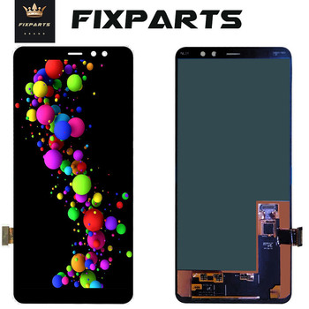 """Super AMOLED For 6.0"""" SAMSUNG Galaxy A8 Plus 2018 LCD A730 + Display Touch Screen Digitizer Assembly For Samsung A730x LCD"""