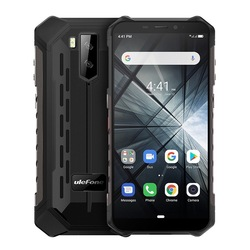 Перейти на Алиэкспресс и купить 2019 new ulefone armor x3 mobile phone android 9.0 ip68 waterproof 2gb 32gb mt6580 5.5дюйм. hd+ 8mp 5000mah face id 3g smartphone