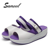 2018 Sandales D'été Pour Les Femmes Nouvelle Mode Romaine Sandales Chaussures peep Toe Plat Chaussures Shake Dames Datation Flip Flops Chaussures jx5