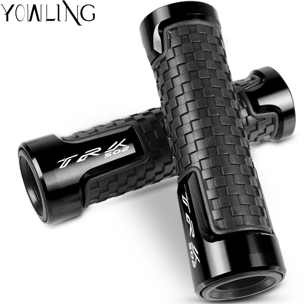Universal 7/8 22mm Motorcycles <font><b>Accessories</b></font> Handle Hand Handlebar Grips For <font><b>Benelli</b></font> TRK502 <font><b>TRK</b></font> <font><b>502</b></font> 2017 2018 2019 image