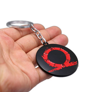 Image 4 - גאו צעצוע אלוהים של מלחמת לוגו Keychain שרשרת בקבוק Opennr צעצועי Pnedants קרייטוס נשק להבי דגם בובת תליון