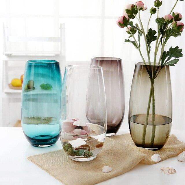 Transparent Table Corlorful Mini Vase En Verre Bouteilles De Parfum
