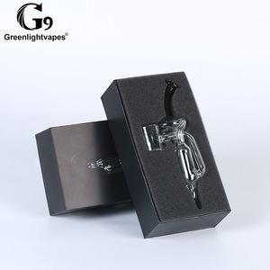 Image 5 - Greenlightvapes G9 bocchino vetro filtro acqua tubo gorgogliatore adattatore adattatore per 510 Nail / Henail Plus / TC Port