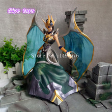 Anime Game LOL Morgana Fallen Angel PVC Action Figure Toy Model Collection