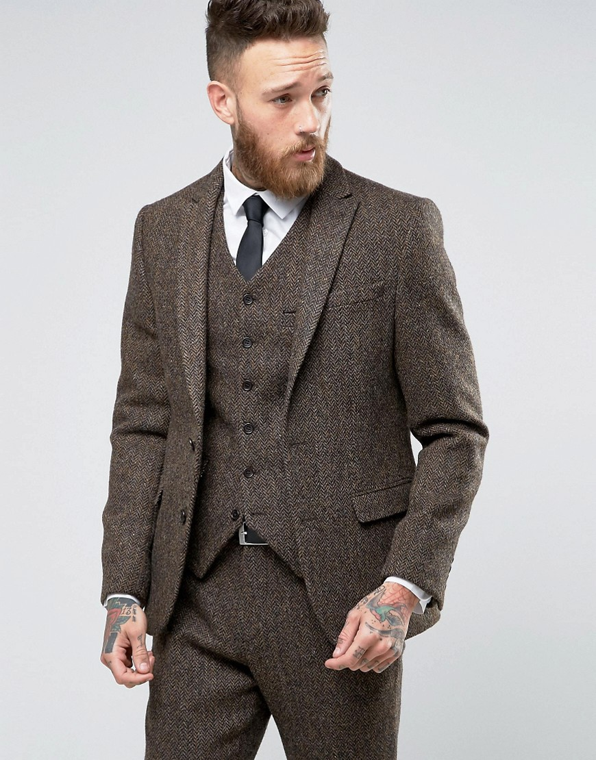 Online Buy Wholesale brown tweed suit from China brown tweed suit ...