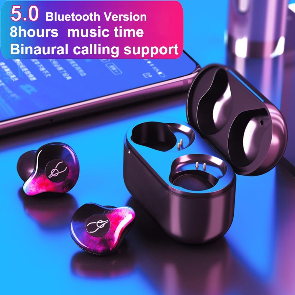 Sabbat Wireless Earbuds TWS 5 0 Bluetooth Earphone Sport Hifi Headset Handsfree IP5 Waterproof Headphone for Xiaomi huawei Phone in Bluetooth Earphones Headphones from Consumer Electronics