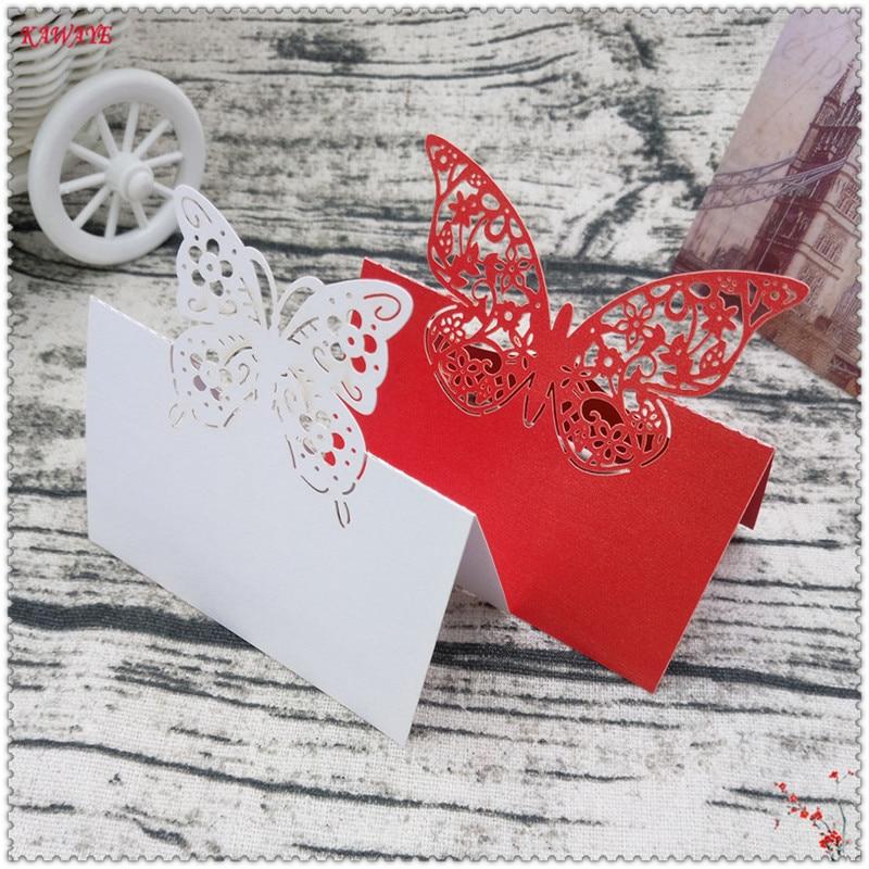 Aliexpress.com : Buy 20pcs Love Heart Laser Cut Seat Card ...