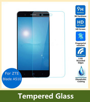 9H 0.26mm LCD Front Explosion-proof Tempered Glass Film For ZTE Blade A510 / A510T / BA510 Screen Protector pelicula de vidro