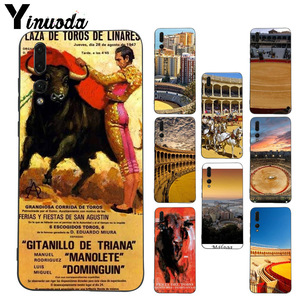 Yinuoda Spain Buiding Plaza de Toros de Ronda Special Offer Luxury case for Huawei p20 pro p10 plus mate10 honor view 9 10 case(China)