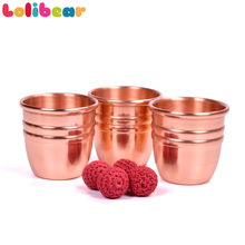 Super Professional Brass Three Cups and Balls With Chop Cup (Large) Magic Tricks Magician Close Up Illusion Gimmick Props