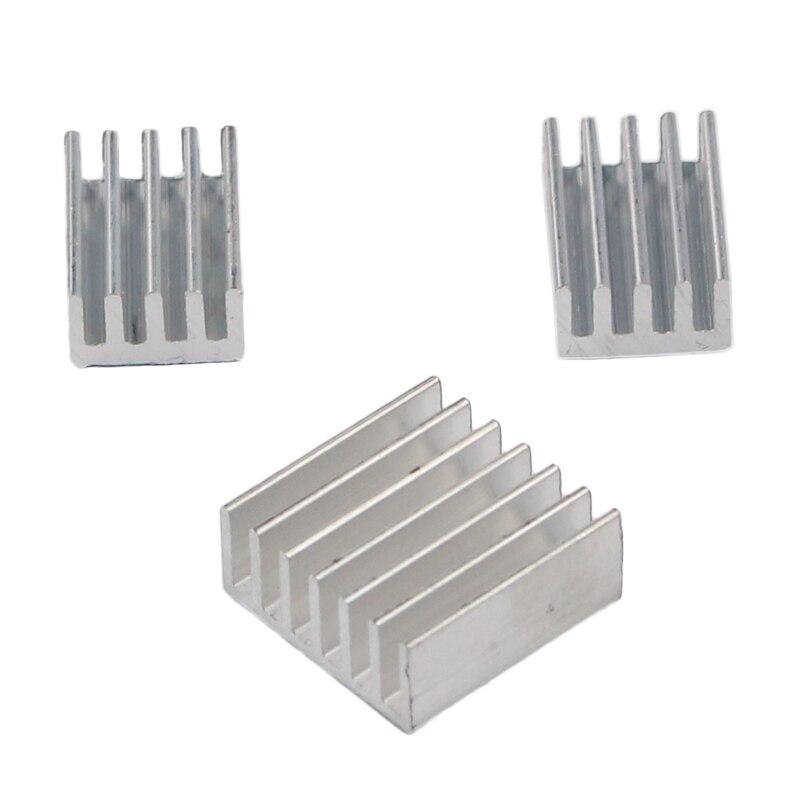 цена на For Orange Pi PC Heatsink Aluminum Heat Sink Cooling Pad radiador For Orange Pi PC