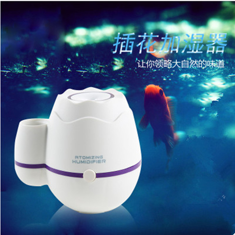 ФОТО Smart usb mini air humidifier flower style Intelligent  home &car quiet air conditioning purification aromatherapy oxygen bar