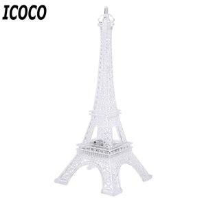 Image 3 - ICOCO 1 Uds 7 cambio de Color Torre Eiffel LED luz de noche mesa de escritorio romántico estado de ánimo lámpara de mesa decoración de dormitorio regalo romático