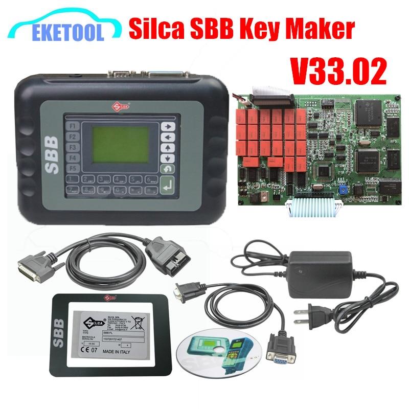 Prix pour Nouvelle Version V33.02 Slica Clés Pro CFF Clé Programmeur Multi-langue Auto Key Maker Fonctionne Pour Multi-Marque voitures Hotasale