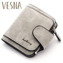 Luxury 2019 Retro Matte Women Wallets Short Wallet Female Clutch Fashion Bag Lady Coin Purse Bags