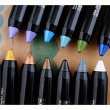 Lady Eyeshadow Pencil Pro Waterproof Crayon Eye Shadow Cream Makeup Blue Pen New Drop Shipping
