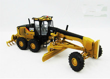 Norscot Alloy Model 1:50 Caterpillar CAT 14M Engineering Machinery Motor Grader Diecast Toy Model 55189 Collection,Decoration cat caterpillar ct660 dump truck yellow 1 50 model by diecast masters 85290