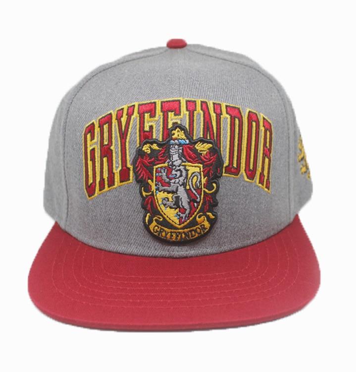 Baseball-Cap Hip-Hop-Hat Embroidery Potter College Gryffindor Children's Harry New