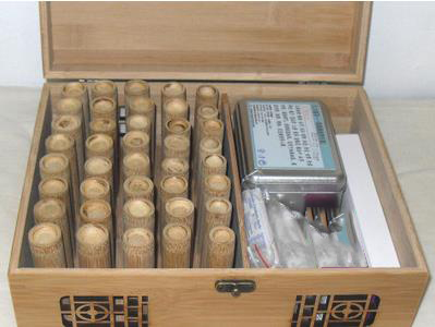 Boiled without thumb paint small bamboo tank carbonation tank medicine xie blood bamboo sticks set box of cupping therapy. huanqiu traditional bamboo cupping set 3 bamboo jars free shipping