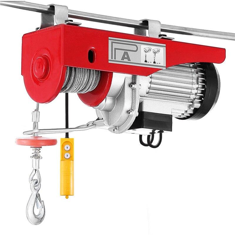 Elektrische Takel/met Elektrische Auto Takel/220 V/pa200-pa1000/huishoudelijke Crane Elektrische Kabel Hoist Elektrische Lier Motor Hwc
