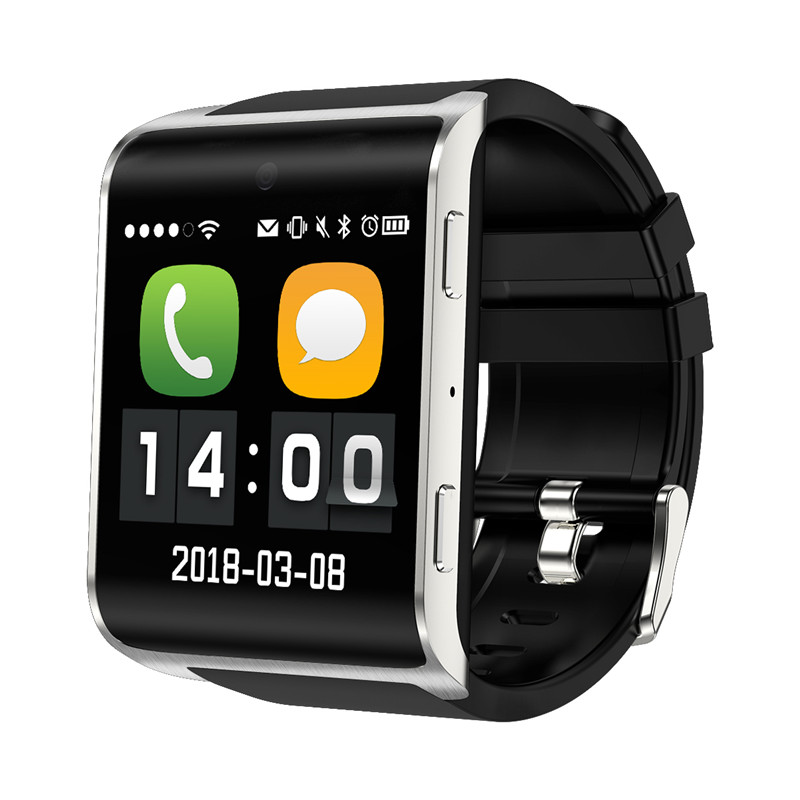 4G SmartWatch Android DM2018  MTK737 1GB+16GB Heart Rate Monitor WiFi GPS Smart Watch for amazfits watch PK KW88  Q1 pro M9 H5