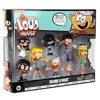 Forte Casa Action Figure Giocattoli 8 Pezzi/set Lincoln Clyde Lori Giglio Leni Carta di Lucy Lisa Luna Figura Giocattoli per I Bambini di Natale regalo