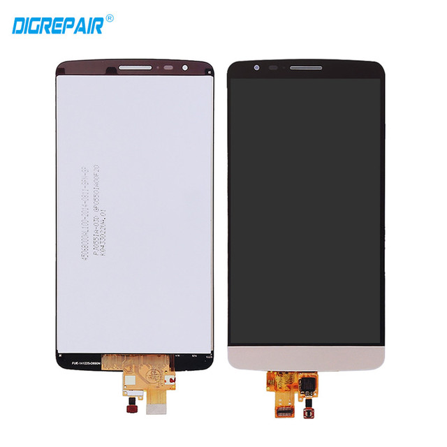 55 Golden For LG G3 Stylus D690 LCD Display Touch Screen Glass Panel