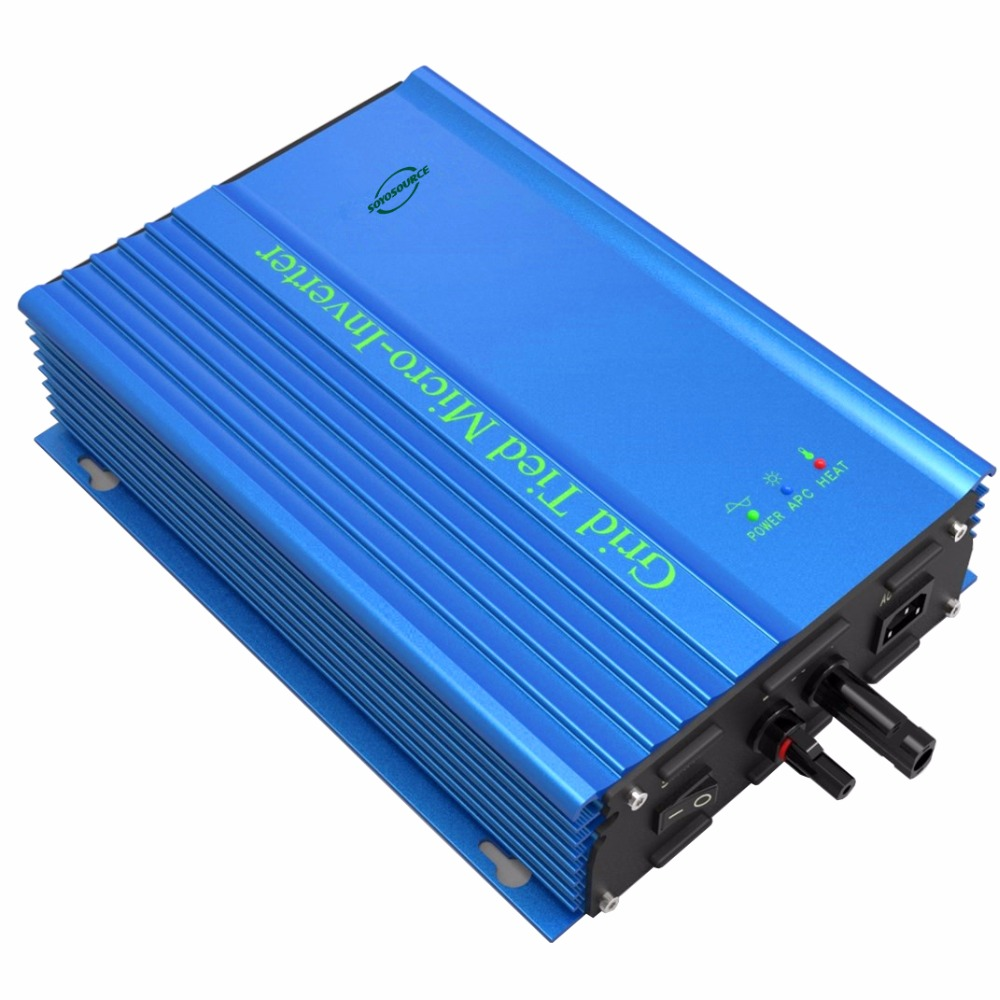 Photovoltaik-zubehör 300w Waterproof Grid Tie Inverter Dc22-50v To Ac220v Pure Sine Wave Inverter Ce