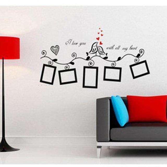 aliexpress : buy 100*40cm black new creative bird wall art