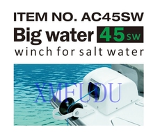 For 45lbs Anchor Saltwater Marine Boat Yacht Pontoon Sail Boat Heavy Duty 12V Electric Anchor Winch White