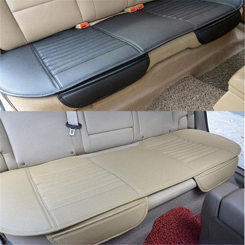 Vehemo 4 цвета из искусственной кожи автомобиль интерьер долго заднего сиденья Чехлы для подушек Pad Универсальный дышащая заднем сиденье автом...