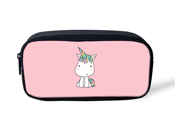 Noisy designs Women Make Up Case Animal Mysterious Unicorn Printed Cosmetic Bag Makeup Kit School Children Cosmetic Bag Case