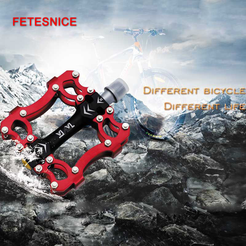 Bicycle Pedal Anti-slip Ultralight CNC MTB Mountain Bike Pedal Sealed Titanium Bearing Pedals Bicycle Accessories rockbros titanium ti mtb road bike bicycle pedals pedal spindle wellgo mg1 mg 1 mg 1