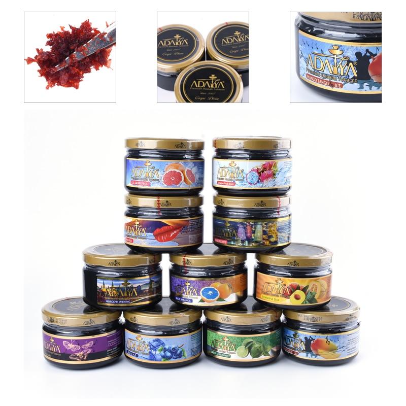 250g Import Adalya Shisha Hookah Tool Accessories Glass Hookahs Shisha Smoking Chicha for Fruit Smoke