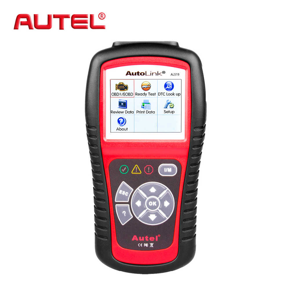 Automotive Scan Tool >> Autel Autolink Al519 Obd2 Car Fault Code Reader Car Diagnostic Tool Automotive Scanner Automotive Scan Tool Better To Elm327