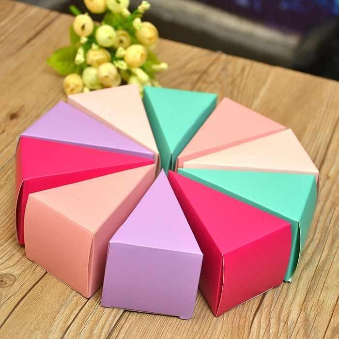 キャンディーボックスバッグチョコレート紙ギフトパッケージ用誕生日ウェディングパーティーの好意の装飾用品diyベビーシャワーケーキ小さなwh