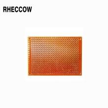 """Rheccow 25 шт. 9x15 см Прототип 9*15 см печатная монтажная панель припоя универсальная печатная плата для """"сделай сам"""""""