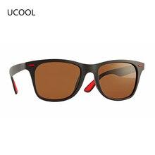 2019 UCOOL DESIGN Classic Polarized Sunglasses Men Women Driving Square Frame Sun Glasses Male Goggle UV400 Gafas De Sol SG009