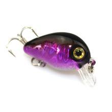 1PCS 3cm 1.5g Japan Mini Wobbler Crazy Wobble Pesca Crankbait Hard Crank Bait Tackle Artificial Fishing Lure Swimbait Fish ZB205