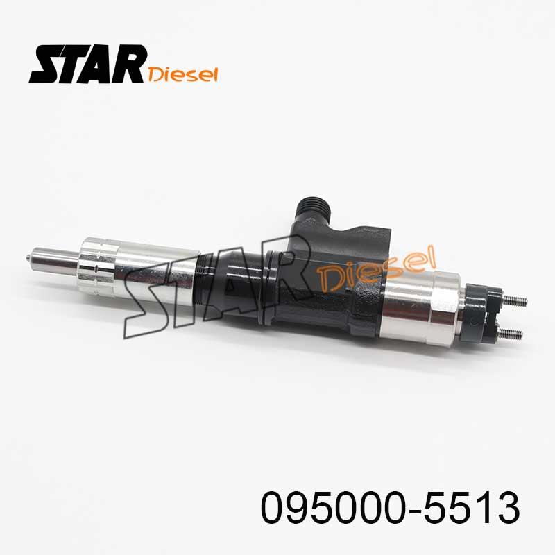 Injecteur de moteur Diesel Star 0950005513 injecteur de carburant véritable 095000-5513 injecteur d'origine 095000 5513 pour Isuzu