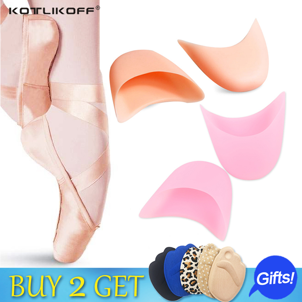 foot care toe dance protector insoles half pad pads sponge silicone gel support ballet shoes covers high heel shoe women expfoot orthotic arch support shoe pad orthopedic insoles pu insoles for shoes breathable foot pads massage sport insole 045