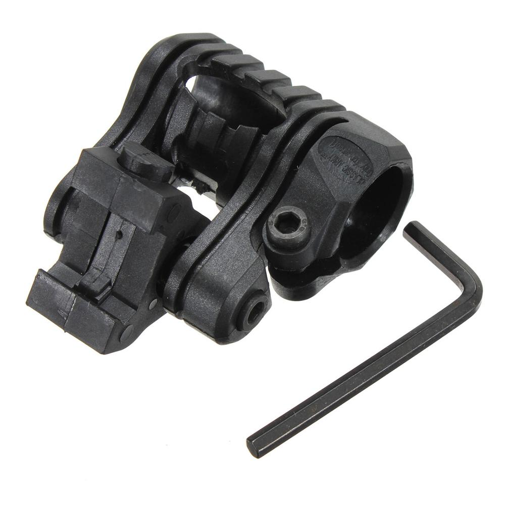 NEW ARRIVAL Hot Sale Tactical 1 inch / 25mm 5 Position For Airsoft Flashlight Laser Picatinny 20mm Rail Mount For Hunting