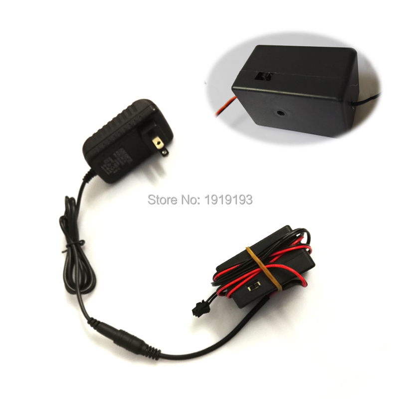 NEW Type AC100V-220V Inverter Use for 20-100meters EL wire or strip with Flashing function For holiday lighting Decoration
