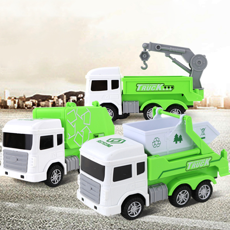Electric Music Sanitation Truck Rubbish Toy Cars Toys For Children Kids Toys Car Runing Singing Car Model Boy Toy Car