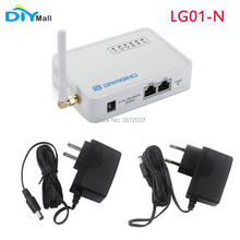 DIYmall for Dragino LG01-N Single Channel LoRa IoT Gateway Open Source OpenWrt 433/868/915MHz with Power Supply Adapter lg01 p lora internet of things gateway 868 915 433mhz lora iot development kit
